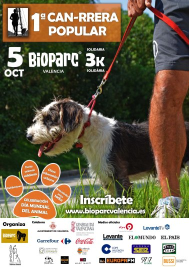 1ª CAN-RRERA POPULAR - BIOPARC VALENCIA