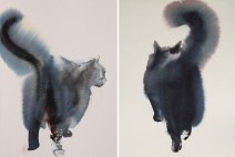 watercolor-black-cats-ink-paitings-endre-penovac-2 (1)