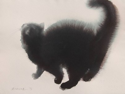 watercolor-black-cats-ink-paitings-endre-penovac-6