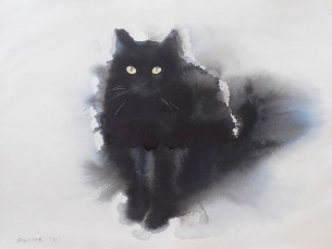 watercolor-black-cats-ink-paitings-endre-penovac-7